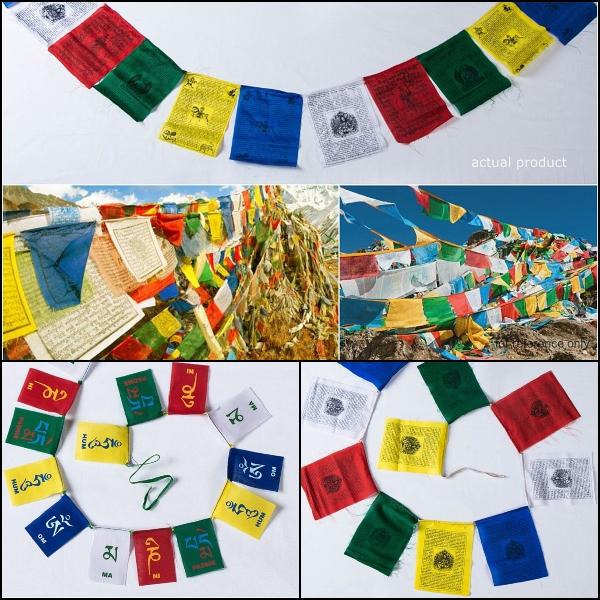 Tibetan Prayer Flags from Himalayas
